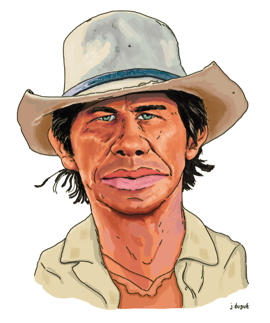 caricature bronson western