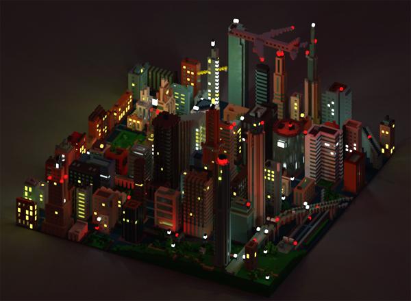 3D voxels