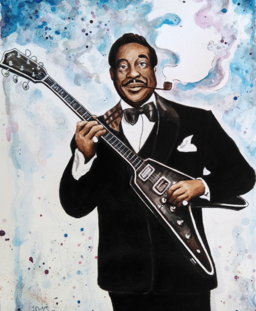 portrait albert king