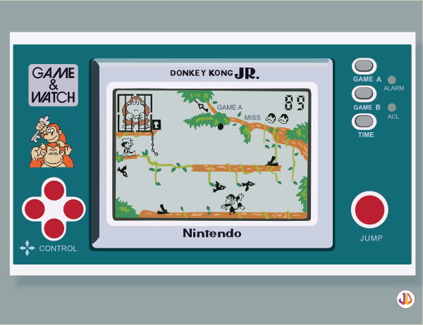 game and watch donkey kong jr