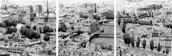 dessin lavis paris