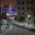 NEIGE A PARIS – (Montmartre 2013)