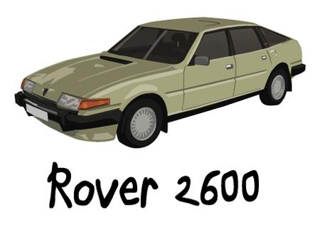 dessin rover 2600