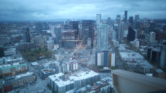 seattle depuis la space needel
