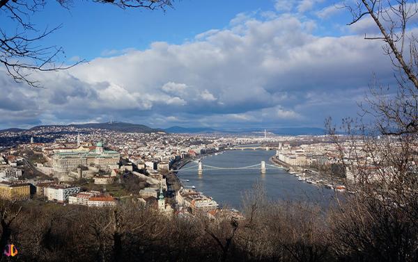budapest depuis colline